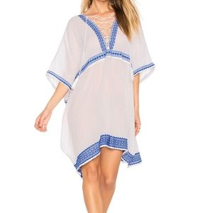VITAMIN A Isabell Short Cover Up Caftan